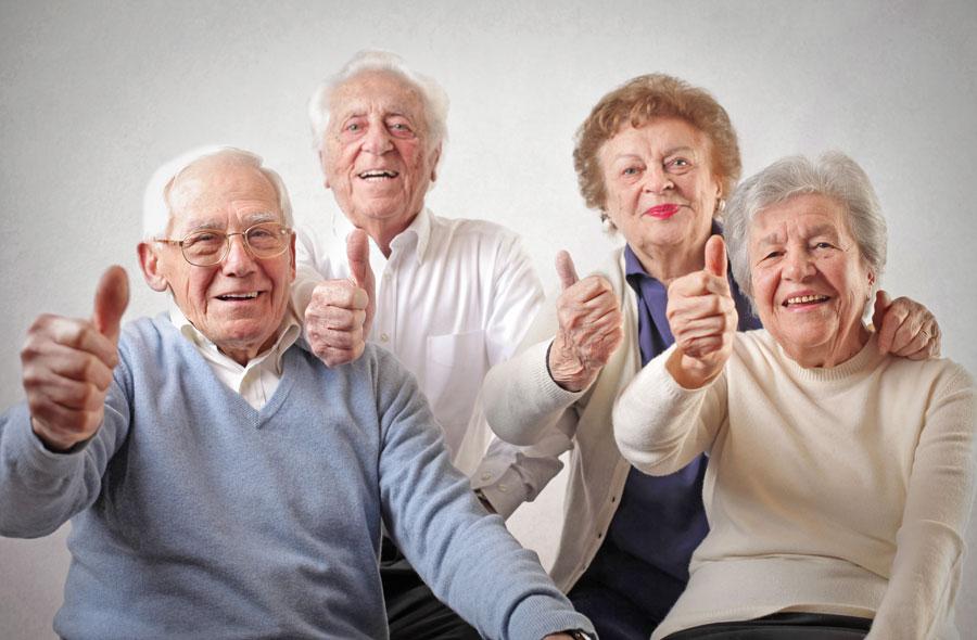 Senioren-und-Ruheständler-mit-guter-Gesundheit-und-fit