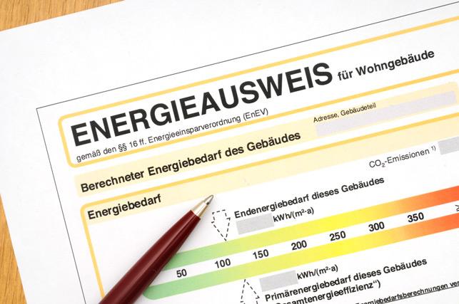 Formular Energieausweis
